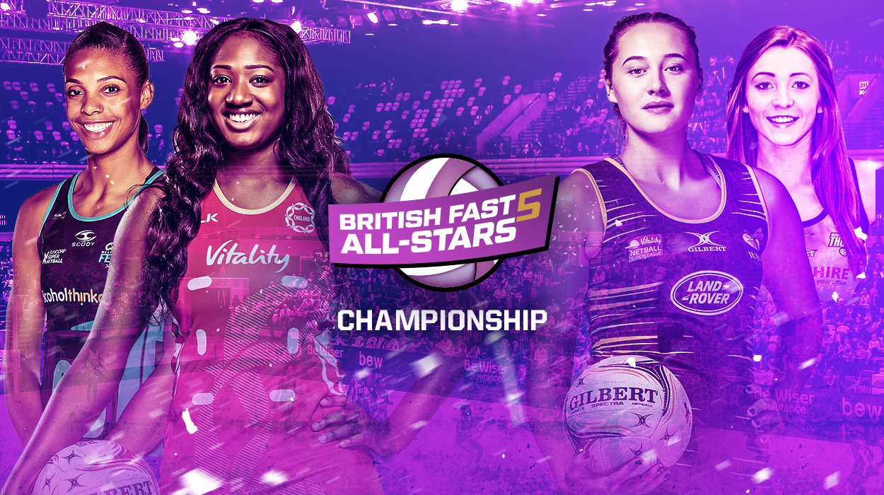 JUST EAT SPONSOR BRITISH FAST5 ALL-STARS CHAMPIONSHIP