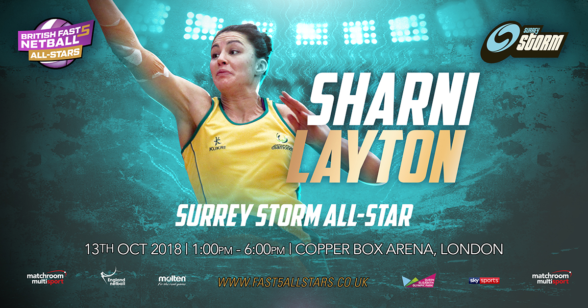LAYTON AMONG FIRST ALL-STARS CONFIRMED FOR FAST5 ALL-STARS