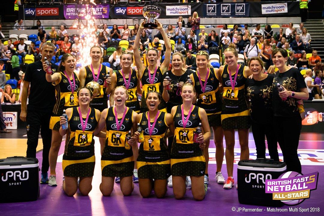 Wasps Netball Are Fast5 Champions