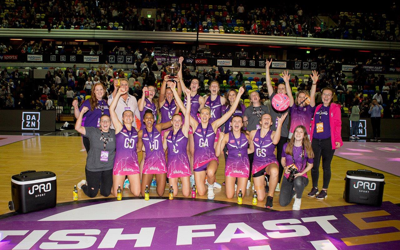 Harten Stars As Lightning Strike For Second Time At British Fast5 Netball All-Stars Championship
