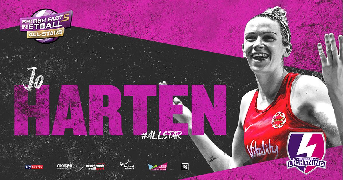 Harten To Play As Lightning All-Star